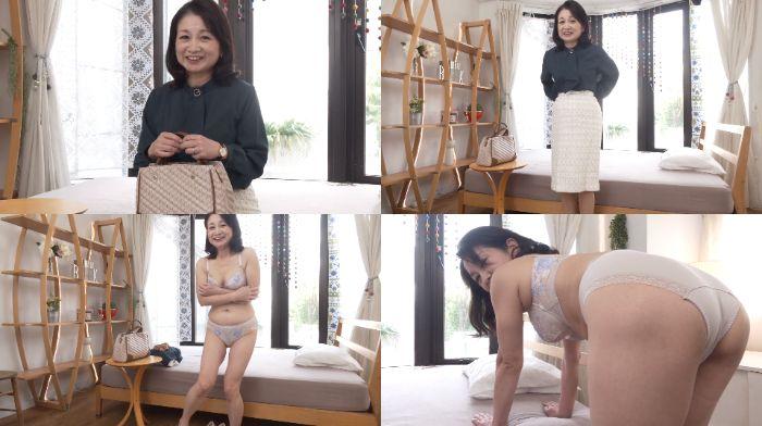 石沢やす子動画 還暦奥様が「初撮り六十路妻ドキュメント」